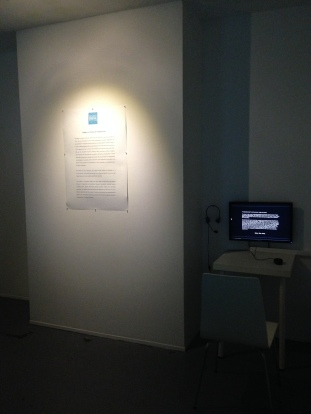 Information Board with The Breathing Wall