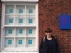 Curator Dr Alice Bell at Bank Street Arts, Sheffield