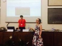 PI Alice Bell and Researcher Isabelle van der Bom